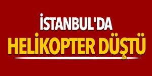 Son dakika... İstanbul'da helikopter düştü 5 kişi hayatını kaybetti