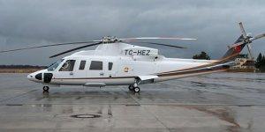 Düşen Helikopter Eczacıbaşı'na Ait