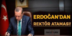 Erdoğan'dan 6 üniversiteye Rektör ataması!
