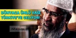 Dünyaca ünlü vaiz Türkiye'ye geliyor