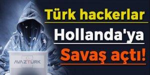 Türk hackerlar Hollanda'ya savaş açtı!