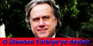 Hollanda krizinde o ülkeden Türkiye'ye destek!