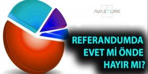 9 anket şirketinden son referandum sonuçları!