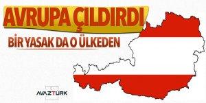 Türkiye'ye bir yasak da Avusturya'dan