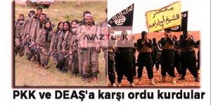 PYD/PKK ve DEAŞ'a karşı ordu kuruyorlar!
