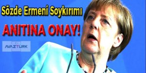 Almanya'da sözde Ermeni Soykırımı Anıtı'na onay!