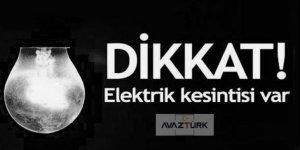 İstanbul'da 17 Mart'ta elektrik kesintisi!