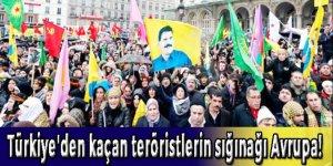 Türkiye'den kaçan teröristlerin sığınağı Avrupa!