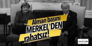 Alman basını Merkel'den rahatsız!