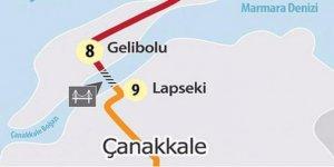 Dünyanın en uzunu olacak Çanakkale köprüsünde geri sayım!