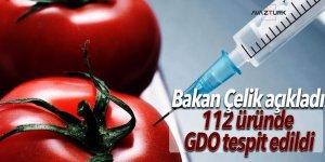 Tarım Bakanı Çelik: 112 üründe GDO tespit edildi