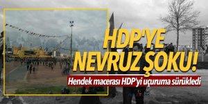 HDP'ye nevruz şoku! Kimse gitmedi