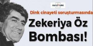 Hrant Dink cinayeti soruşturmasında Zekeriya Öz hakkında yakalama talep edildi!