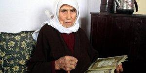 102 yaşında Kur'an okumayı öğreniyor!