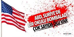 ABD, Suriye'de bir okulu bombaladı! Çok sayıda ölü var