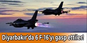 Darbe gecesi Diyarbakır'da 6 F-16'yı gasp ettiler!