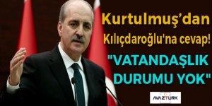 CHP Genel Başkanı Kemal Kılıçdaroğlu'na cevap!