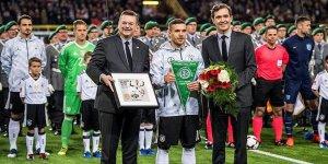 Podolski Milli Takımı'na veda etti!