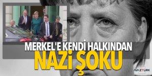 Merkel'e kendi halkından Nazi şoku