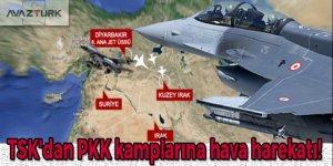 TSK'dan PKK kamplarına hava harekatı!