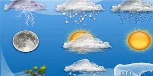Meteoroloji verilerine göre yurtta hava durumu!