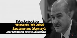 Bakan Soylu açıkladı: Katliamı yapan hain elimizde!