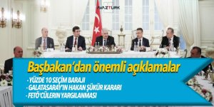Başbakan Yıldırım: Yüzde 10 seçim barajı indirilebilir