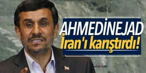 Ahmedinejad'ın son konuşması İran'ı karıştırdı!
