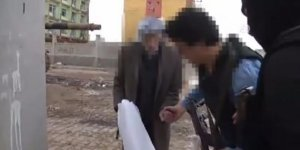 Terör mağduru yaşlı çifte polisten yardım eli