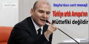 'Türkiye artık Avrupa'nın müttefiki değildir'