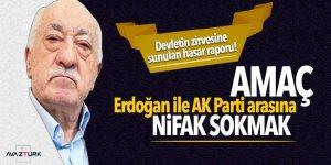 Devletin zirvesine sunulan hasar raporu! Amaç Erdoğan ile AK Parti arasına nifak sokmak