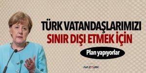 Almanya'da Türkleri sınır dışı etme planı