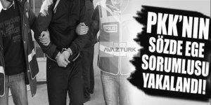 PKK'nın sözde sorumlusu yakalandı!