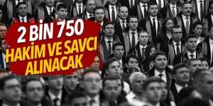 2 bin 750 hakim ve savcı alınacak