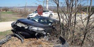 Belediye Başkanı trafik kazası geçirdi