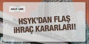 Skandal tahliyeler sonrası HSYK'dan ihraç kararı!