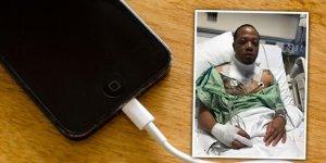 iPhone şarj ederken canından oluyordu!