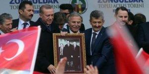 Erdoğan'ı duygulandıran fotoğraf!