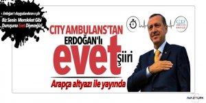Erdoğan'ı duygulandıran o şiir Arapça altyazı ile yayında