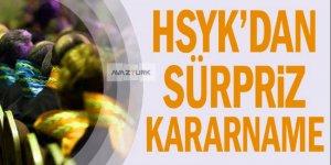 HSYK 31 savcı ve hakimin görev yerini değiştirdi!