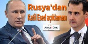 Rusya'dan Katil Esed açıklaması!