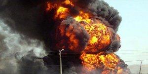 Osmaniye'de demir çelik fabrikasında patlama