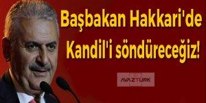 Başbakan Hakkari'de: Kandil'i söndüreceğiz!