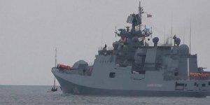 Rus gemisi yola çıktı, Suriye'ye gidiyor!
