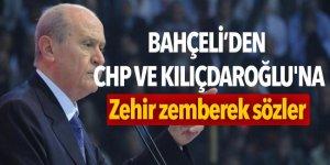Bahçeli'den CHP ve Kılıçdaroğlu'na zehir zemberek sözler