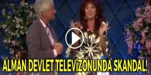 Alman devlet televizyonunda skandal!
