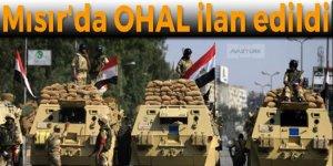 Mısır'da OHAL ilan edildi, asker sokağa iniyor