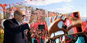 Cumhurbaşkanı Erdoğan'ın İzmir fotoğrafı günün karesi oldu!