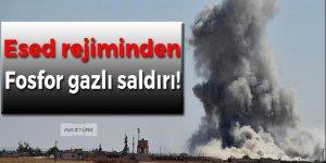 Esed rejiminden fosfor gazlı saldırı!