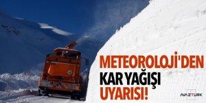 Meteoroloji'den doğu illerine kar yağışı uyarısı!